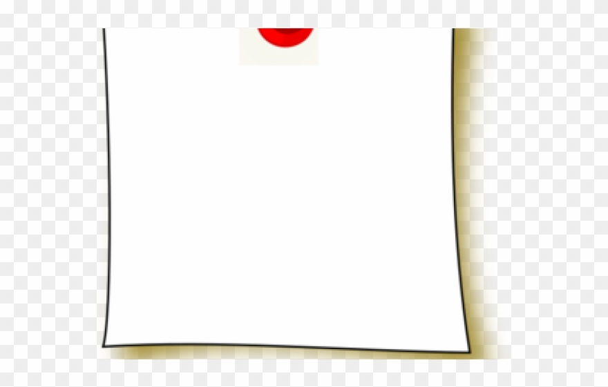 Blank paper clipart vector free stock Note Clipart Blank - Paper - Png Download (#3634483) - PinClipart vector free stock