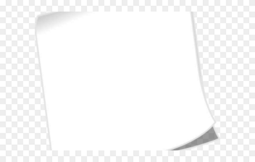 Blank paper clipart png freeuse Note Clipart Blank - Paper - Png Download (#3278638) - PinClipart png freeuse