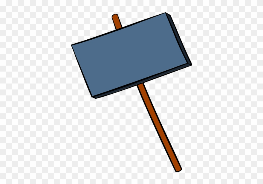 Picket sign clipart png download Signboard Transparent Clipart - Sign Board Clipart Png (#1630069 ... png download