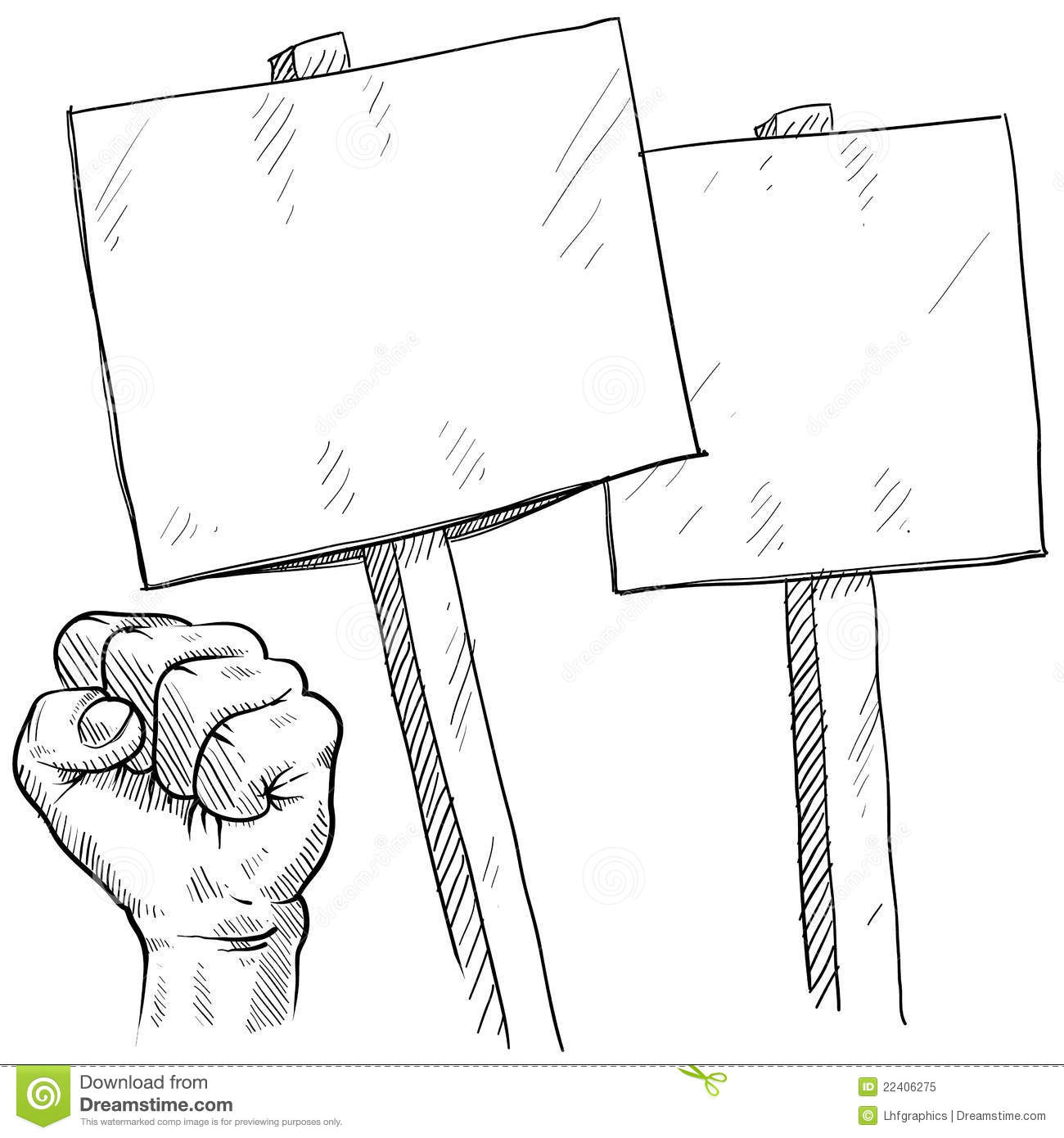 Protest sign clipart clipart transparent download Blank picket or protest signs | Clipart Panda - Free Clipart Images clipart transparent download