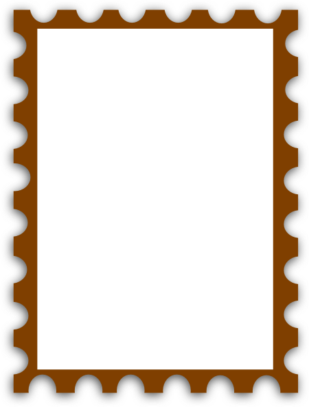 Blank postage stamp clipart free free library Blank Postage Stamp clip art   Clipart Panda - Free Clipart Images free library