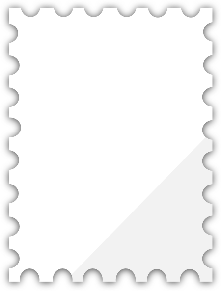 Blank postage stamp clipart free clip art black and white stock Blank Postage Stamp Template png #24412 - Free Icons and PNG Backgrounds clip art black and white stock