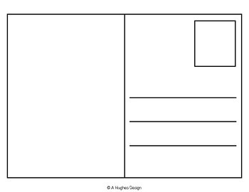 Blank postcard clipart banner free stock FREE Blank Postcards {A Hughes Design} banner free stock