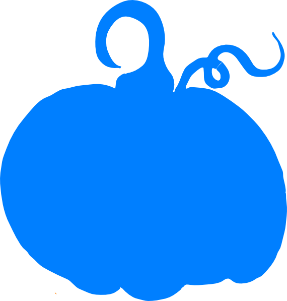 Blue Pumpkin Clipart image library download