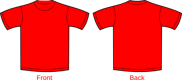 Blank red t shirt clipart svg free library Red T-shirt Clip Art at Clker.com - vector clip art online, royalty ... svg free library