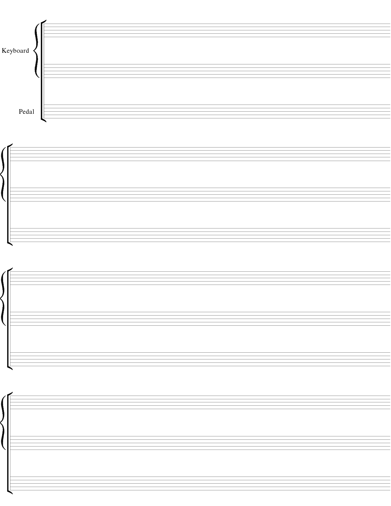 Blank sheet music clipart picture transparent stock Blank Sheet Music Clipart - Clipart Kid picture transparent stock