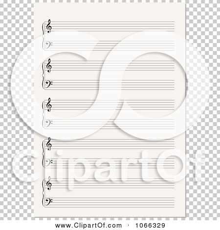 Blank sheet music clipart jpg black and white download Blank sheet music clipart - ClipartFest jpg black and white download