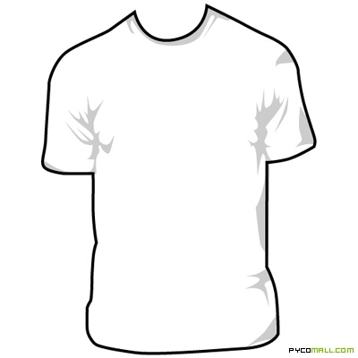 Plain white t shirt clipart clip royalty free stock Free Blank Tshirt, Download Free Clip Art, Free Clip Art on Clipart ... clip royalty free stock