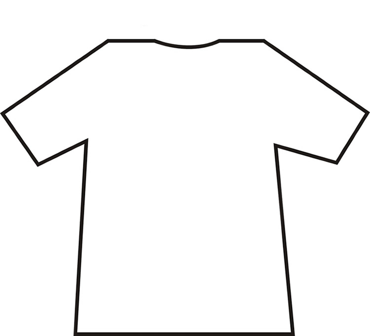 Blank shirt clipart black and white download Free Blank Tshirt, Download Free Clip Art, Free Clip Art on Clipart ... black and white download