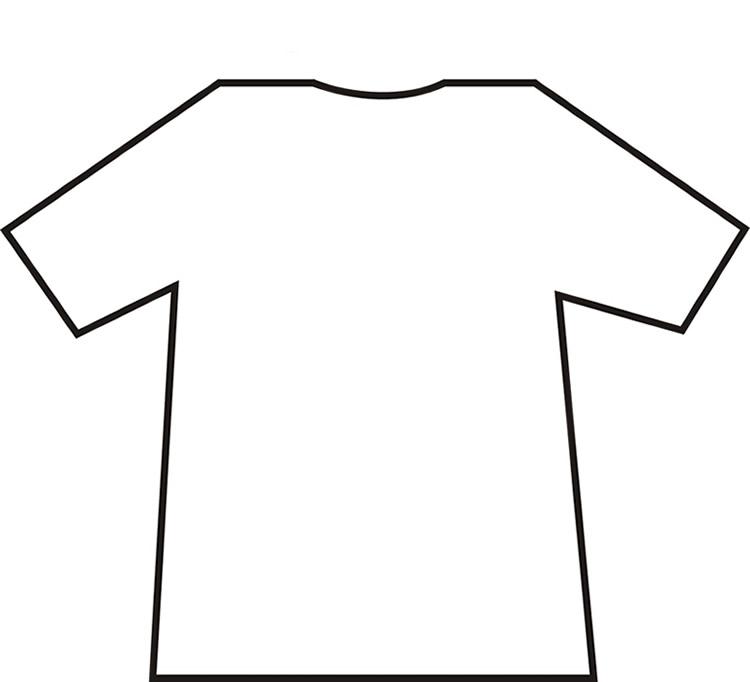 Blank t shirt clipart jpg black and white stock Free Blank Tshirt, Download Free Clip Art, Free Clip Art on Clipart ... jpg black and white stock