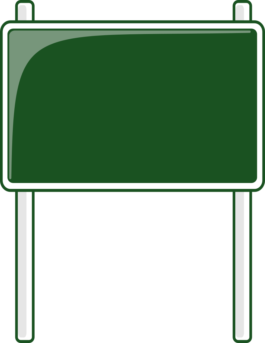 Blank street signs on pole png free clipart vector image transparent library Street Sign Images | Free download best Street Sign Images on ... image transparent library