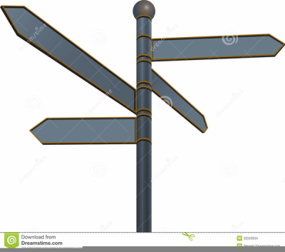 Blank street signs on pole png free clipart vector clip Clipart Blank Street Signs PNG - DLPNG.com clip