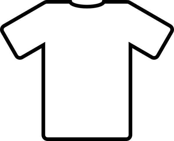 Blank t shirt clipart jpg White T Shirt clip art Free vector in Open office drawing svg ( .svg ... jpg