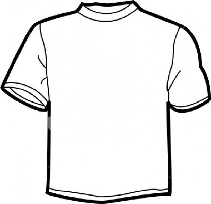 Blank t shirt clipart svg free library Blank T Shirt Drawing at PaintingValley.com | Explore collection of ... svg free library
