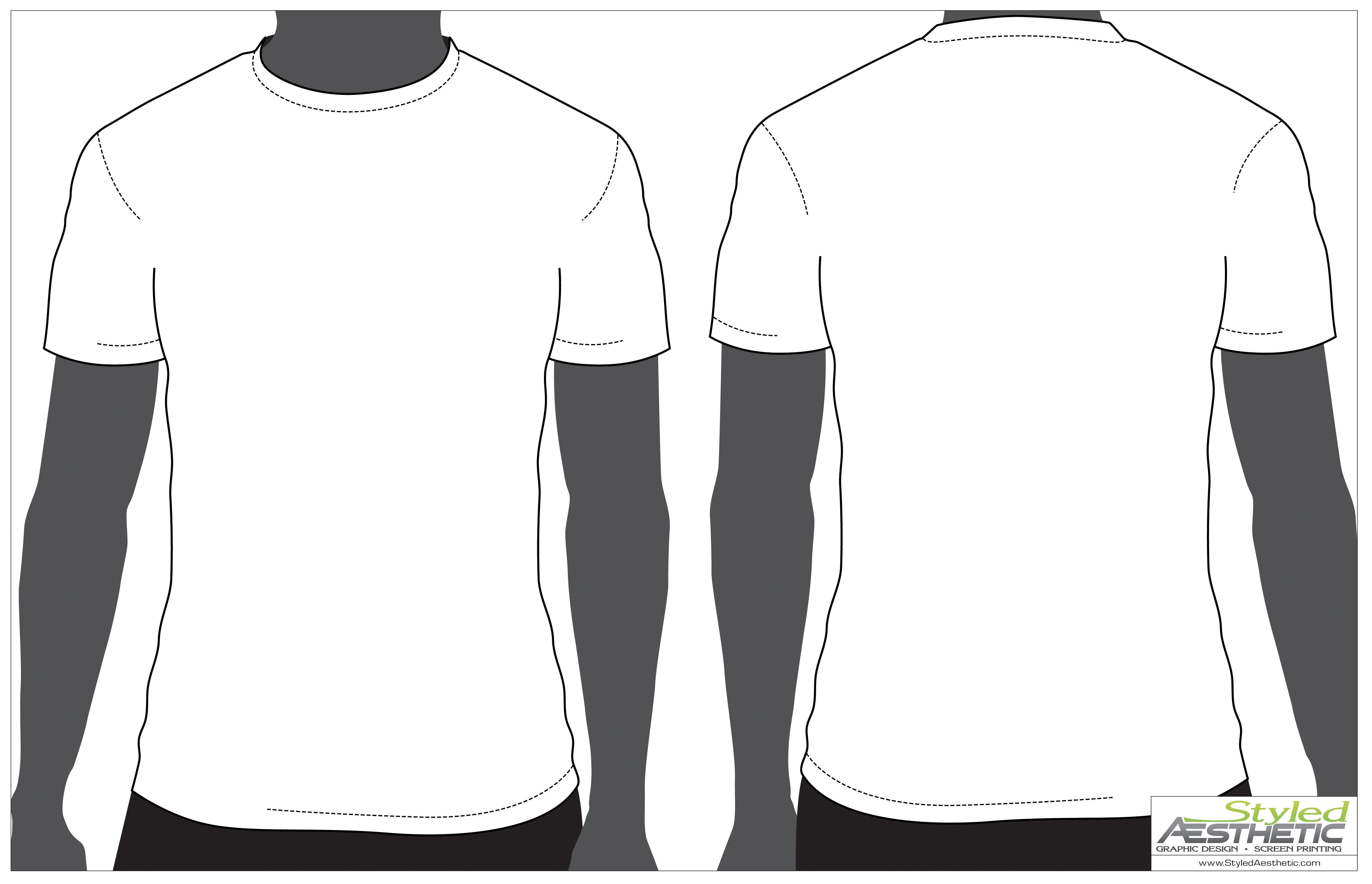 Blank long sleeve shirt clipart png transparent stock Outline Of A T Shirt Template   Free download best Outline Of A T ... png transparent stock