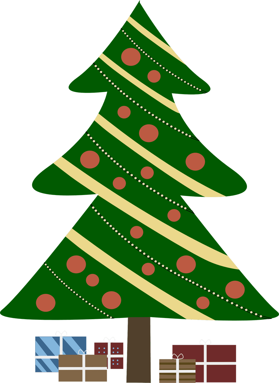 Fancy christmas tree clipart banner royalty free 297 Free Christmas Tree Clip Art Images banner royalty free