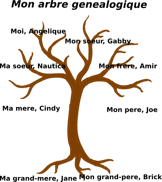 Family tree vector clipart image freeuse Family Tree Clip Art at Clker.com - vector clip art online, royalty ... image freeuse