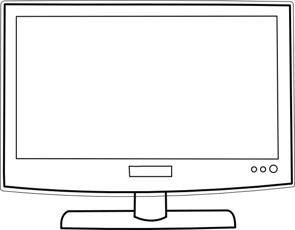 Blank tv screen clipart fetro jpg transparent Tv Screen Clipart | Free download best Tv Screen Clipart on ... jpg transparent