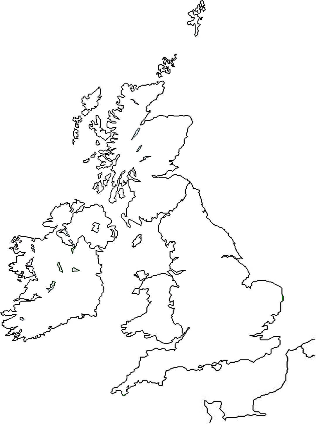 Blank united kingdom clipart map clip freeuse library Blank united kingdom clipart map - ClipartFest clip freeuse library