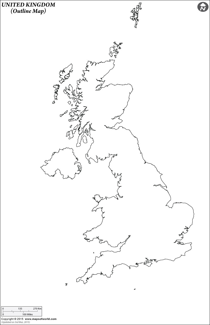 Blank united kingdom clipart map clipart black and white stock World Maps With Countries Blank Map Printable Outline Royalty Free ... clipart black and white stock