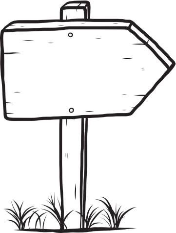 Blank wood sign clipart black and white jpg transparent download Wooden Sign Cliparts - Cliparts Zone jpg transparent download