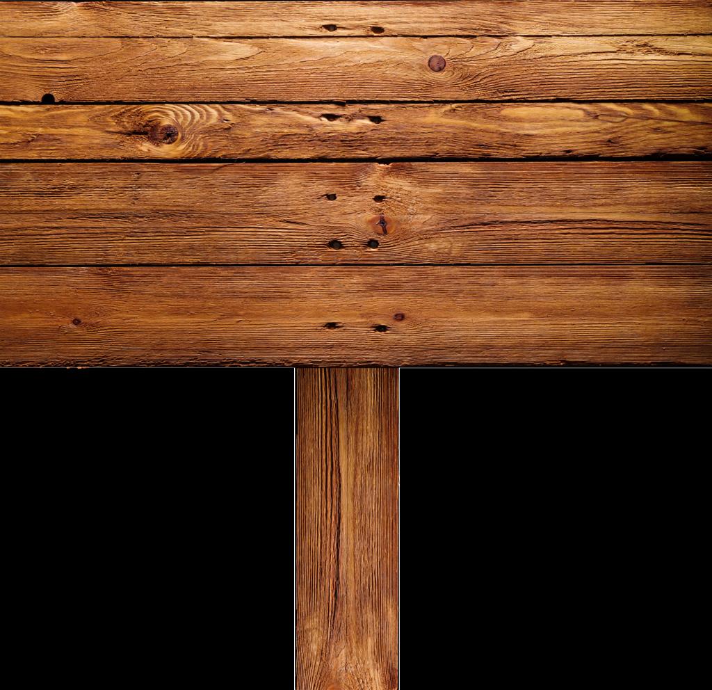 Vintage wood sign clipart