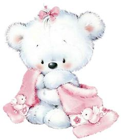 Blanket and stuffed animal clipart png transparent stock 121 Best baby girl clipart images in 2017 | Baby girl clipart, Baby ... png transparent stock