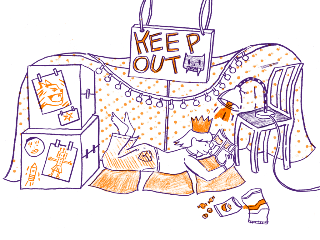 Blanket fort clipart graphic library library Build a blanket fort | Summer of Skills graphic library library