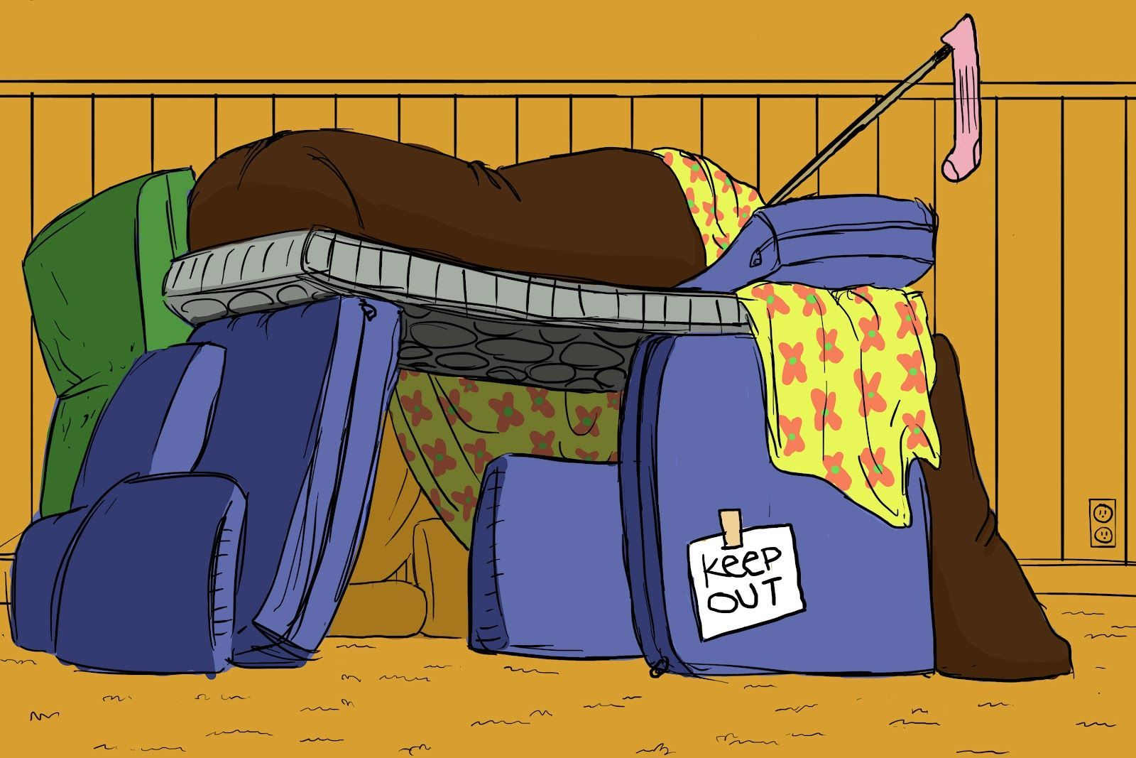 Blanket fort clipart image freeuse library Blanket fort clipart 7 » Clipart Portal image freeuse library