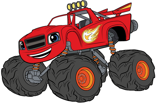 Blaze and monster machines clipart vector free Blaze and the Monster Machines Clip Art | Cartoon Clip Art vector free