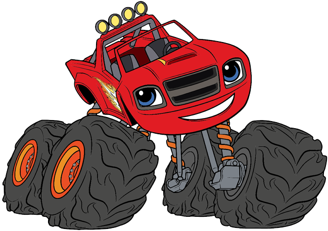 Blaze and monster machines clipart clipart freeuse Blaze and the Monster Machines Clip Art | Cartoon Clip Art clipart freeuse