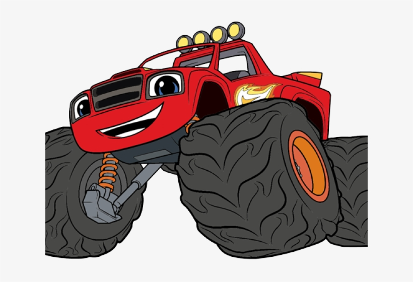 Blaze and monster machines clipart jpg free download Race Clipart Monster Truck Tire - Blaze And The Monster Machines ... jpg free download
