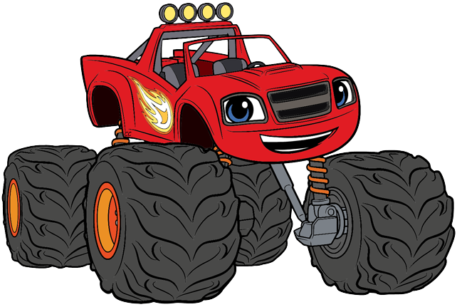 Blaze and monster machines clipart image stock Blaze and the Monster Machines Clip Art | Cartoon Clip Art image stock