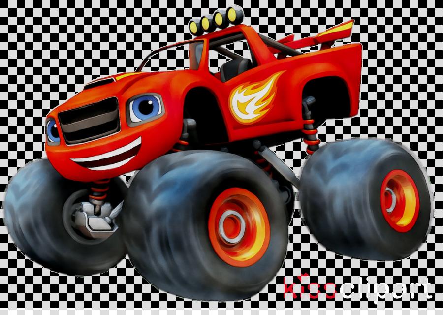 Blaze clipart vector free library Monster Cartoon clipart - Drawing, Car, Racing, transparent clip art vector free library