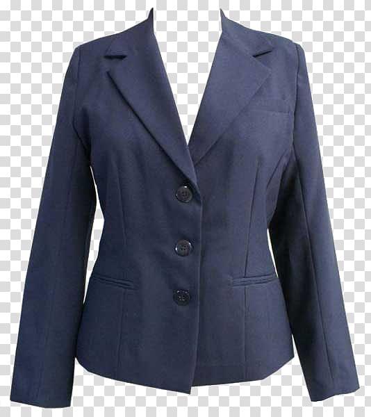 Blazer coat clipart clip art royalty free stock Navy-blue button-up blazer, Suit Sport coat Clothing Formal wear ... clip art royalty free stock