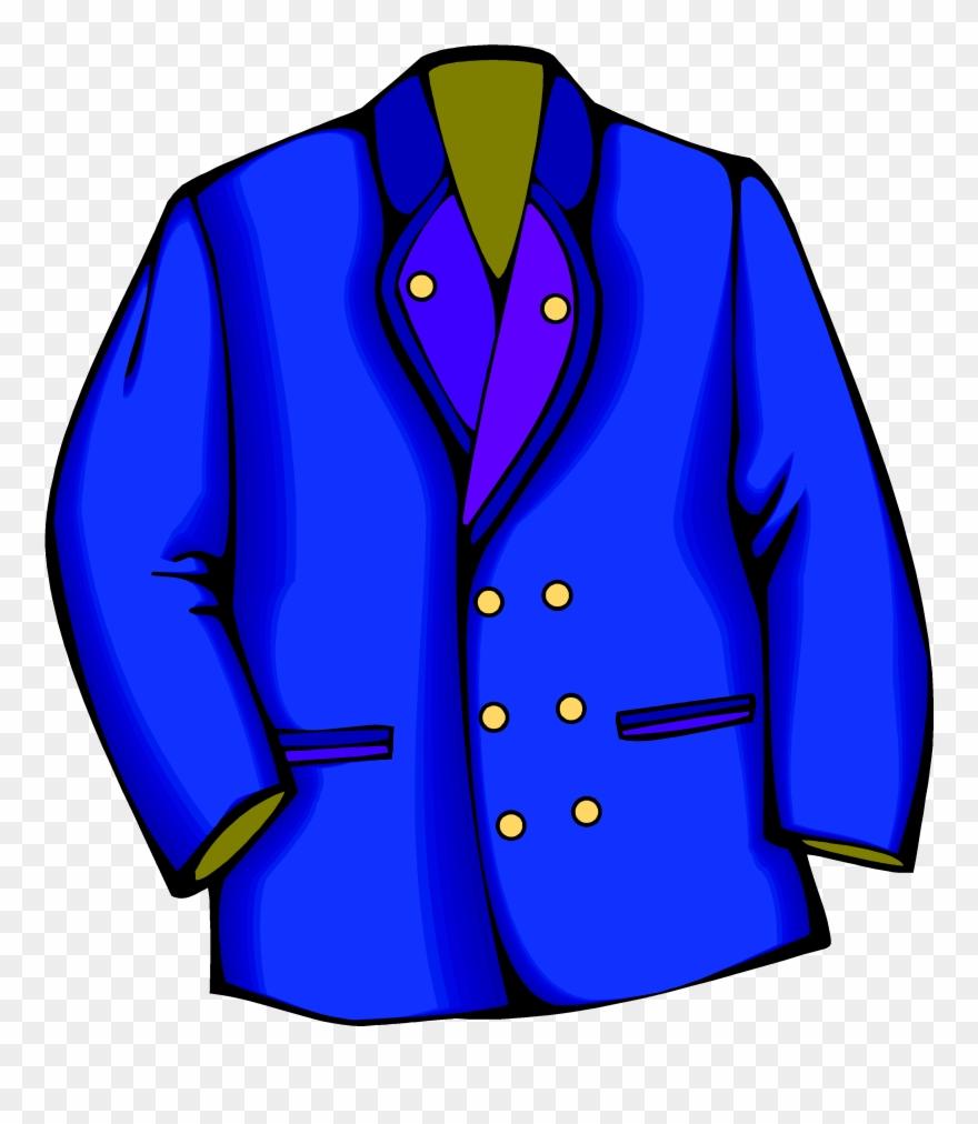 Blazer coat clipart image free stock Blazer Coat Jacket Suit Clip Art Transprent - Blazer Clipart - Png ... image free stock