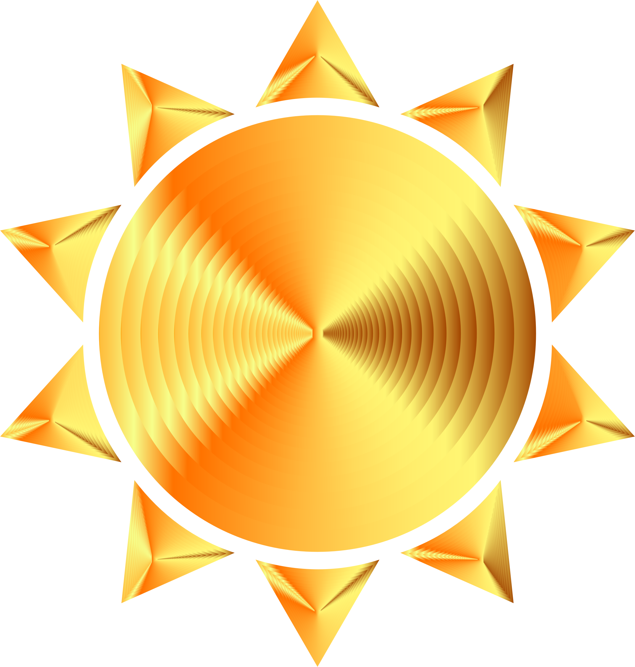 Prismatic Sun Icon Variation 8 Icons PNG - Free PNG and Icons Downloads graphic royalty free stock