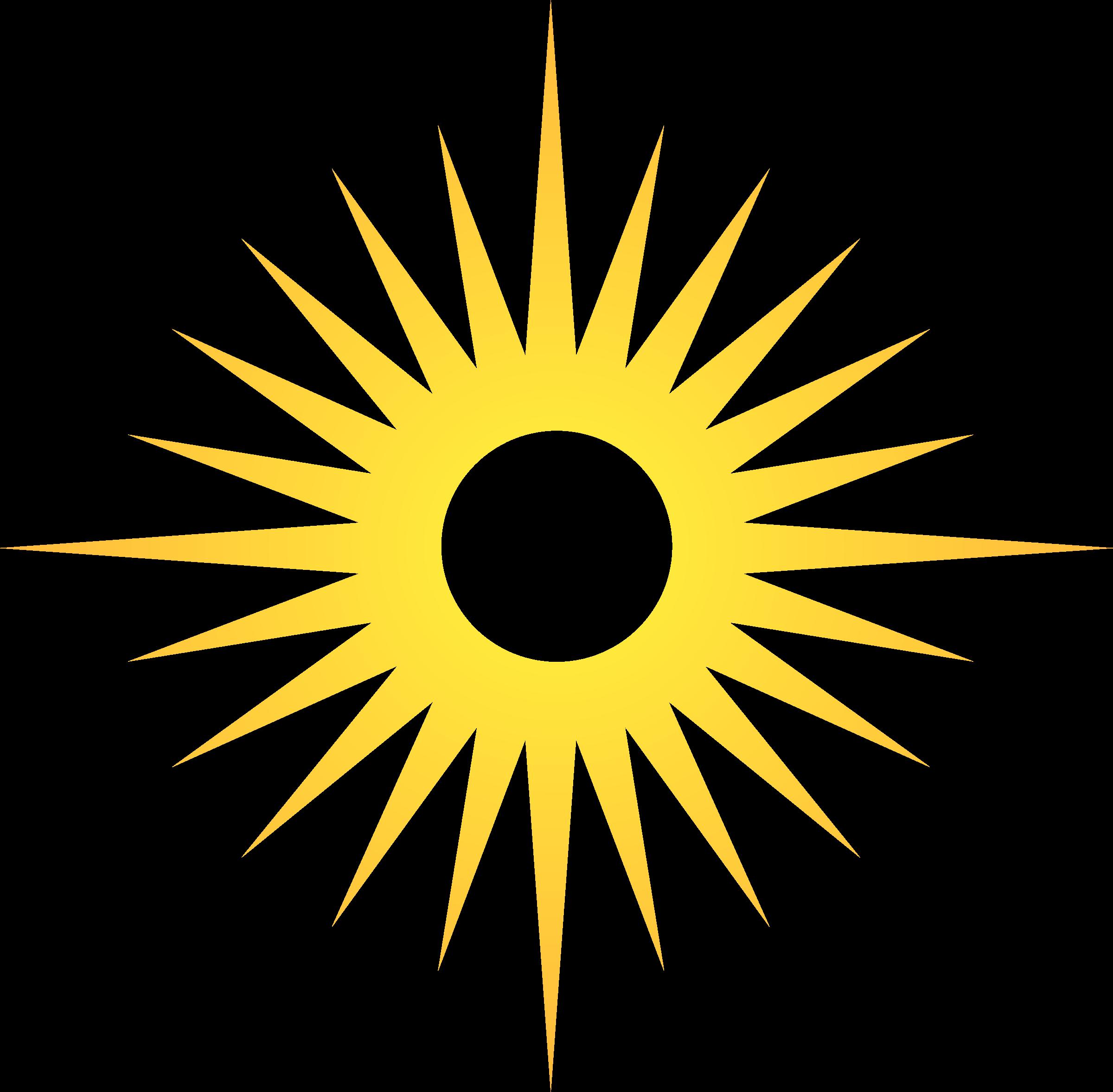 Clipart - Blazing sun 5 clip free library