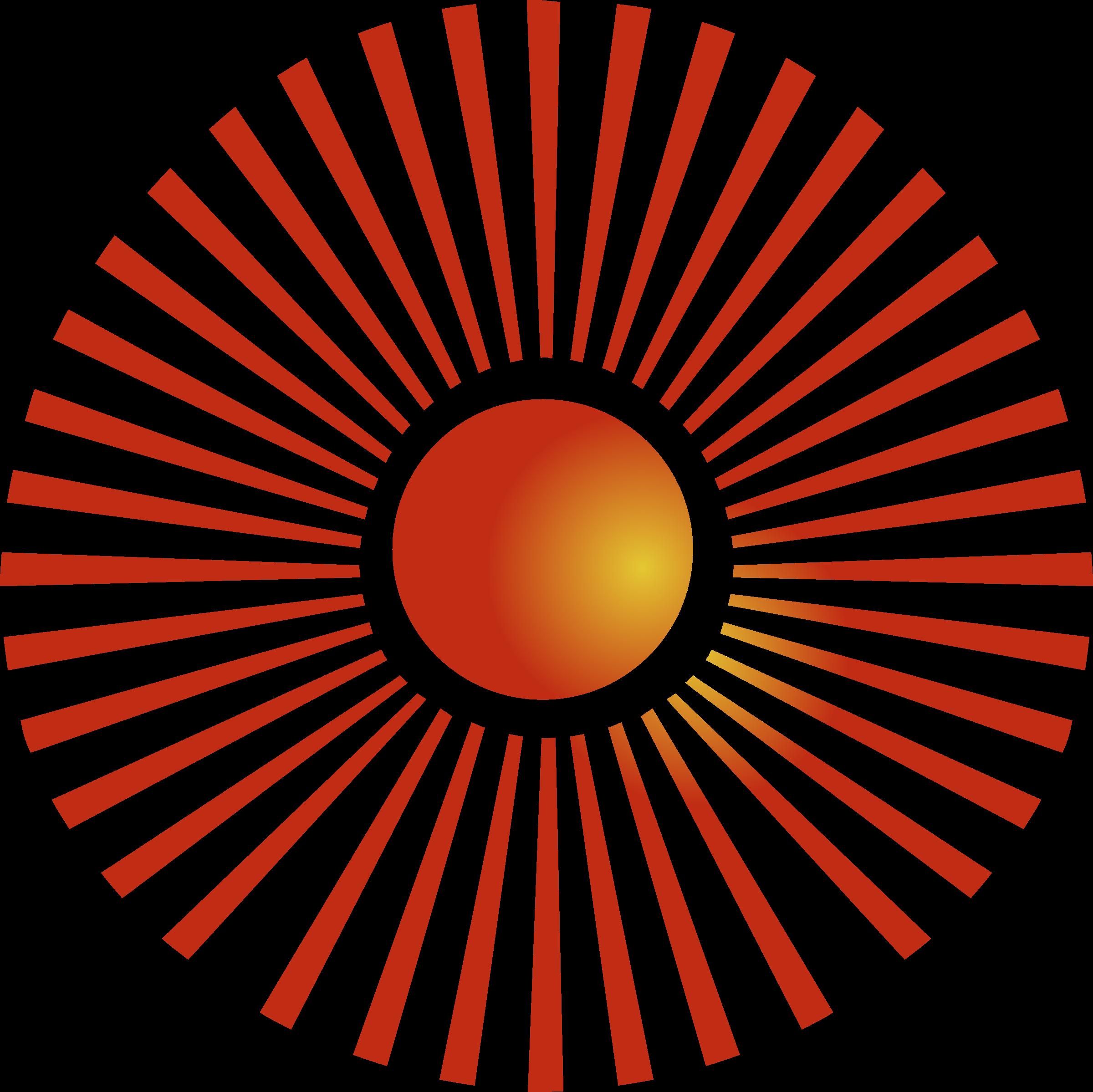 Clipart - Blazing sun 4 jpg transparent library