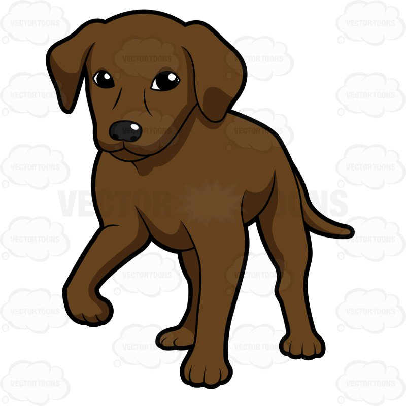 Chocolate lab clipart free clip art black and white stock Chocolate lab clipart 5 » Clipart Station clip art black and white stock