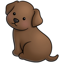 Chocolate lab clipart free picture library stock choc lab | fluff favourites | Animal drawings, Cute animal clipart ... picture library stock