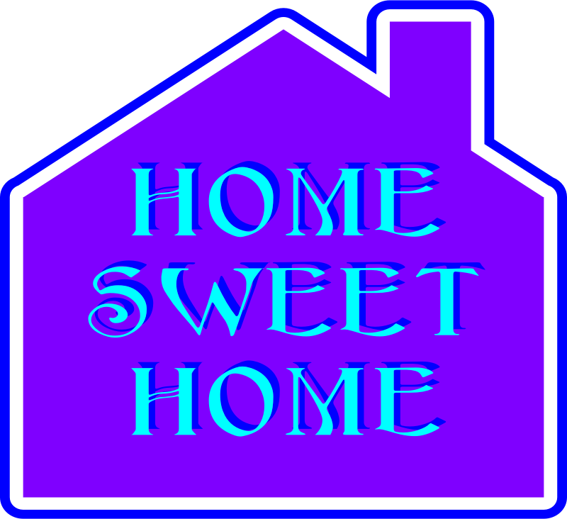 Southwest house clipart vector royalty free Home Is Where the Heart Is, but Where Is