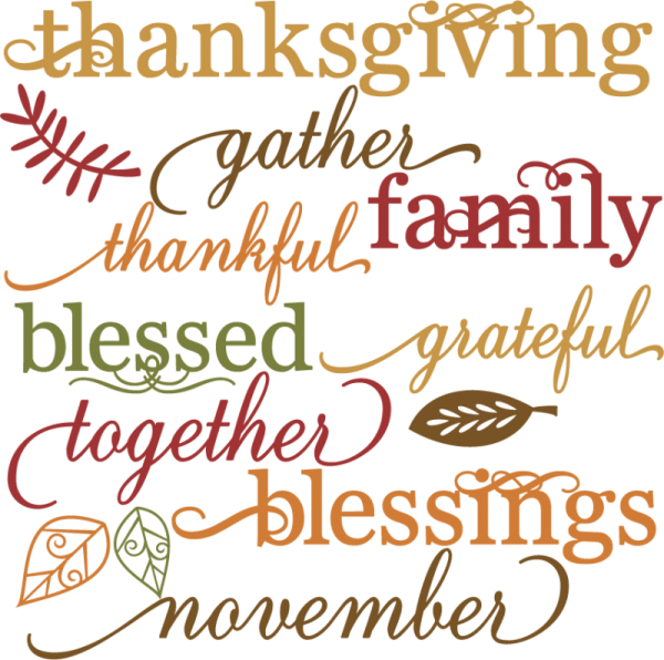 Clipart of blessed thanksgiving jpg library library Happy Thanksgiving! - Irving Cares jpg library library