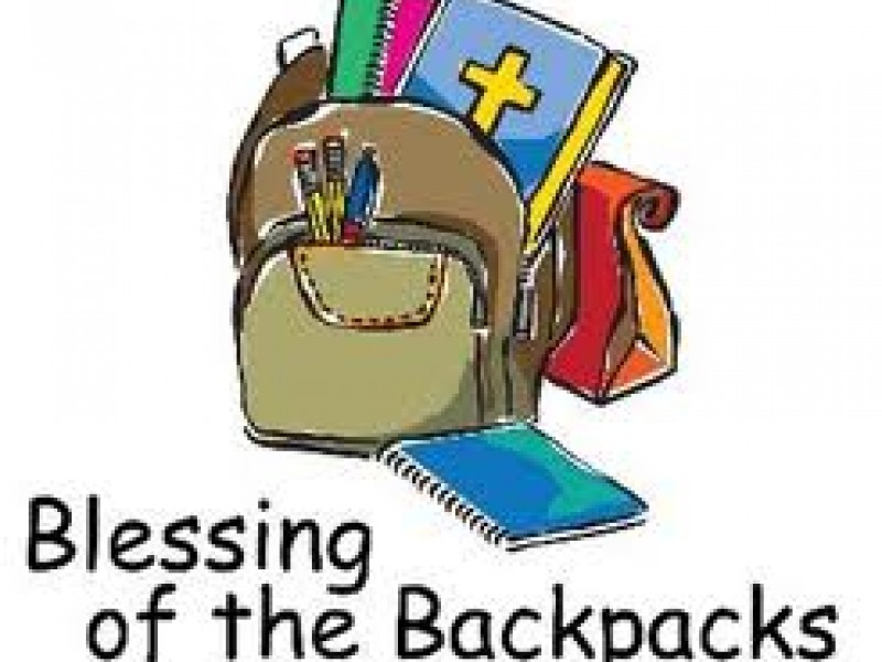 Blessing of backpack clipart png stock Blessing of the backpacks clipart 2 » Clipart Station png stock