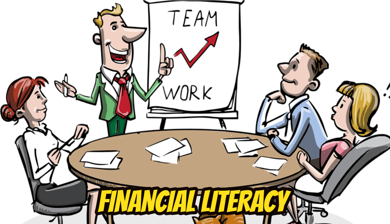 Blind leading the blind clipart png freeuse library Financial Literacy Books Are Great But May Not Be Your - Working ... png freeuse library