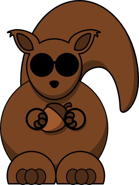 Blind squirrel clipart png free stock Blind Squirrel Clip Art at Clker.com - vector clip art online ... png free stock
