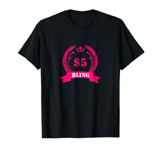 Bling bling and more bling paparazzi clipart picture transparent library Amazon.com: $5 Bling Crest Pink Paparazzi Jewelry Consultant: Clothing picture transparent library