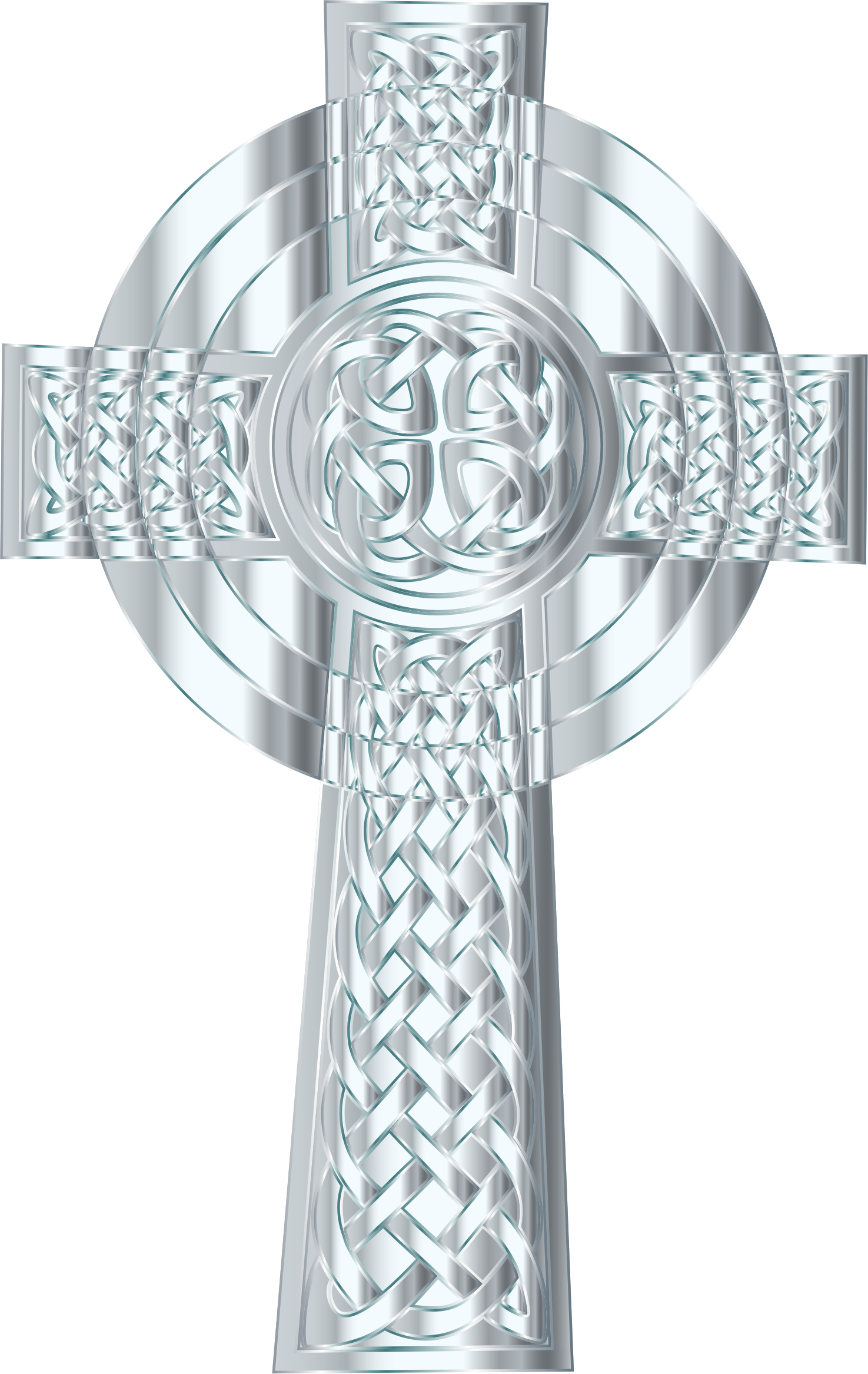 Jesus on the cross clipart images clipart freeuse library Silver Celtic Cross 3 Icons PNG - Free PNG and Icons Downloads clipart freeuse library