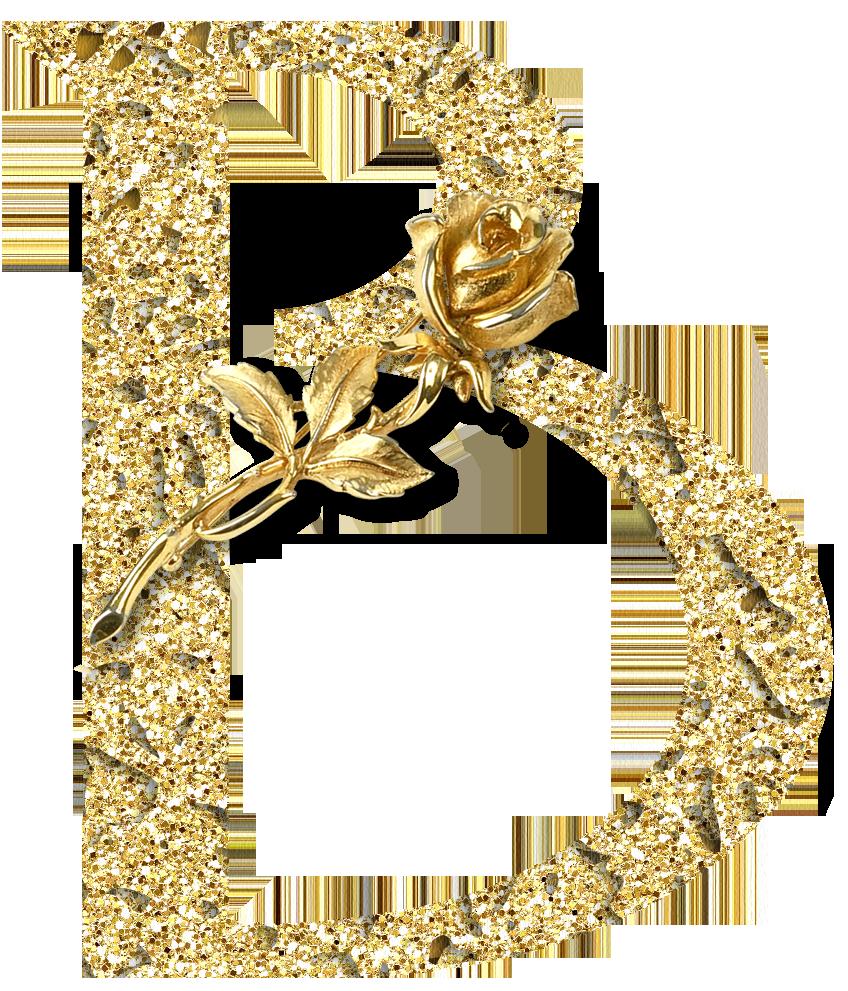 CH.B *✿* Alfabeto floral oro....B | Inspirações : Abecedário ... svg freeuse download