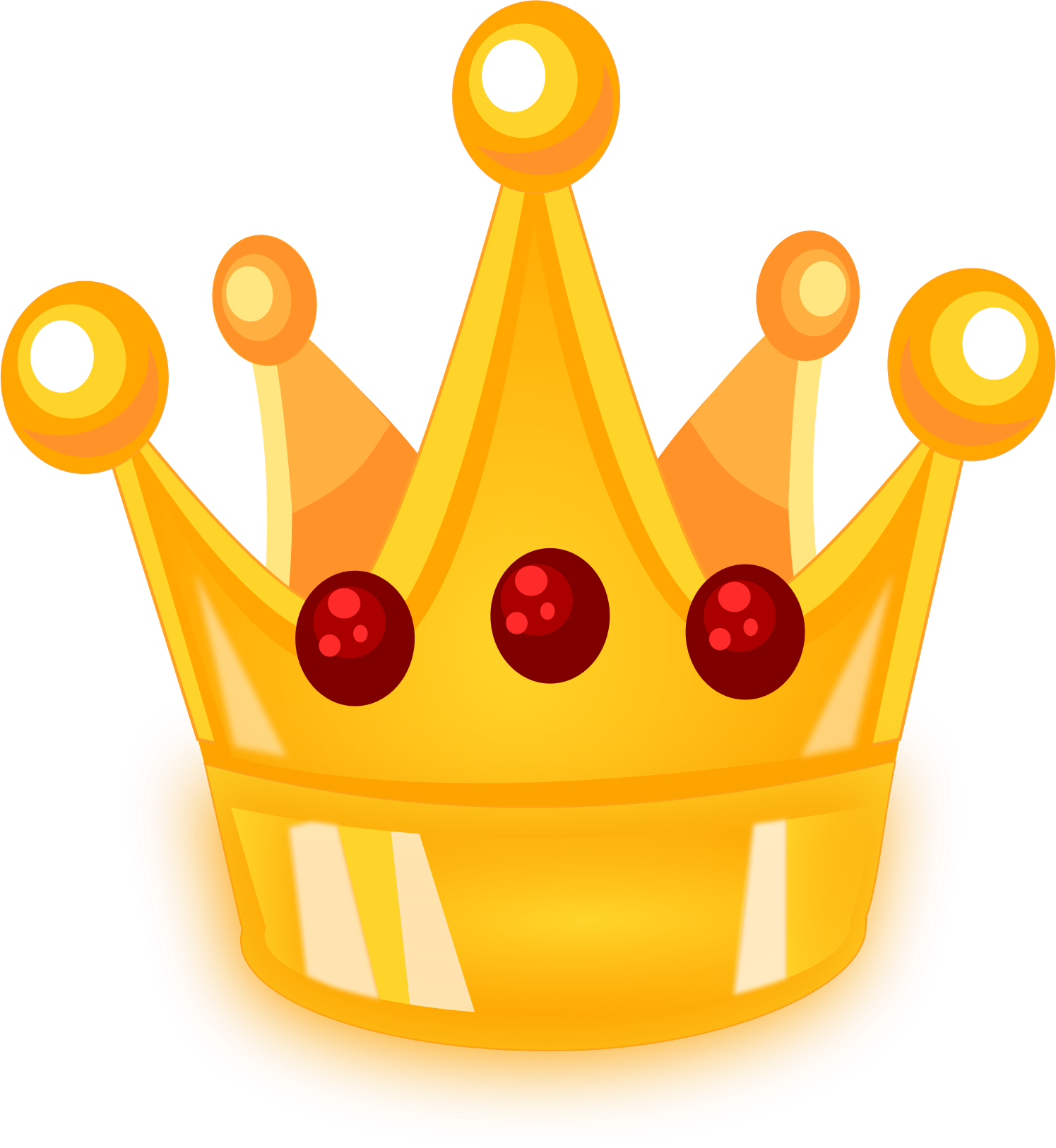 Free royal crown clipart transparent library Clipart - Royal Crown with no background transparent library